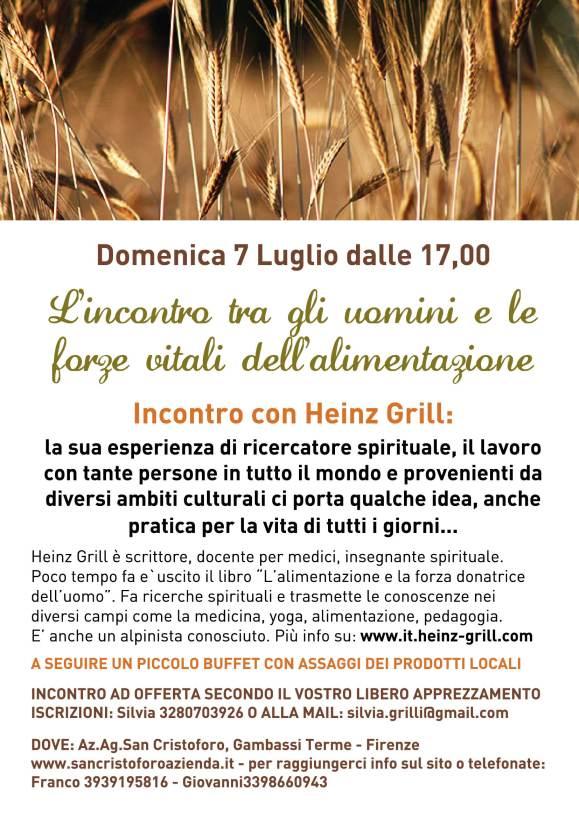 INCONTRO HEINZ GRILL